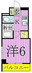レーヴ・アデル千住新橋[8階]の間取り