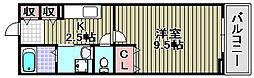ハナミズキ[202号室]の間取り