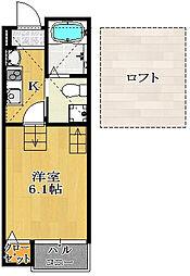 仮)駿河台新築AP2[102号室]の間取り
