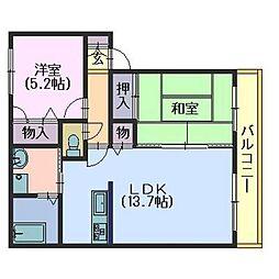 ラフィナートB・C[C103号室]の間取り
