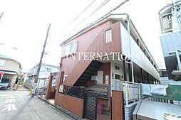 東京都調布市調布ケ丘2丁目の賃貸アパートの外観