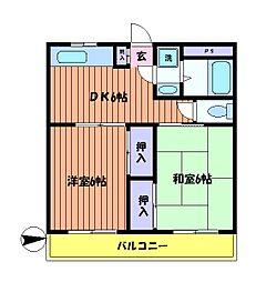 フェステ140[2階]の間取り