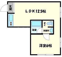 新大阪GHビル[8階]の間取り