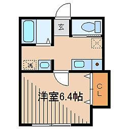 Felice中町(フェリス中町)[1階]の間取り
