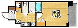 スワンズ京都七条リベルタ[204号室号室]の間取り