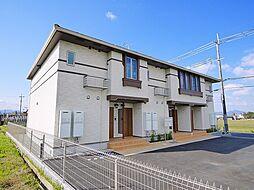 奈良県天理市柳本町の賃貸アパートの外観