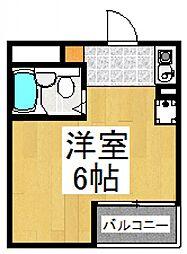 オーク・ビル[3階]の間取り