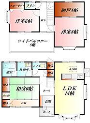 [一戸建] 埼玉県熊谷市桜町2丁目 の賃貸【/】の間取り