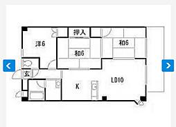 エクセレント津島B棟[1階]の間取り