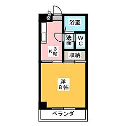 第二末廣ビル[2階]の間取り