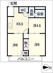 シティハイツ須藤[1階]の間取り