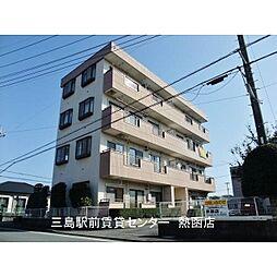 静岡県田方郡函南町間宮の賃貸マンションの外観