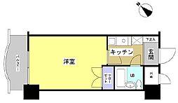 日神パレステージ浜松(203)[203号室]の間取り