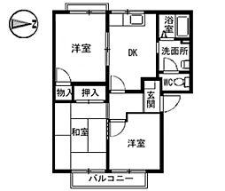 アメニティ[2階]の間取り