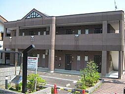 滋賀県大津市皇子が丘1丁目の賃貸アパートの外観
