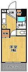 グレイスマンション4番館[5階]の間取り