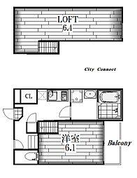 Spazio Felice[2階]の間取り