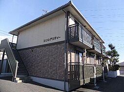 静岡県富士市宇東川西町の賃貸アパートの外観