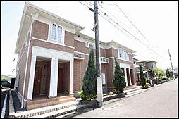 岡山県笠岡市大井南の賃貸アパートの外観