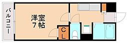 アーク箱崎[4階]の間取り