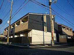 大阪府枚方市牧野本町2丁目の賃貸アパートの外観