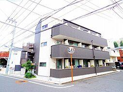 東京都練馬区石神井台7丁目の賃貸アパートの外観