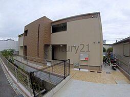 兵庫県宝塚市山本南2丁目の賃貸アパートの外観