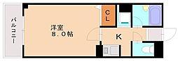 ジュネス井尻駅前[6階]の間取り