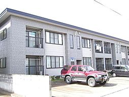 秋田県大仙市大曲飯田町の賃貸アパートの外観
