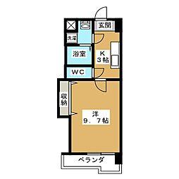 メゾン・フェアリー[5階]の間取り