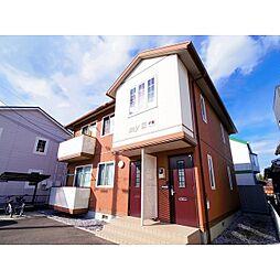 長野県諏訪市南町の賃貸アパートの外観