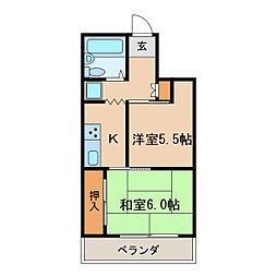 gu-gu東桜[4階]の間取り