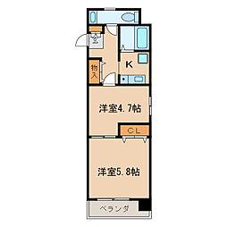 Mステージ栄[5階]の間取り