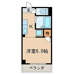 エクセル新栄[1階]の間取り