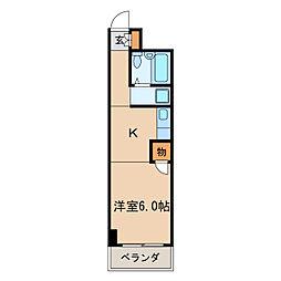 イイダマチハウス[3階]の間取り