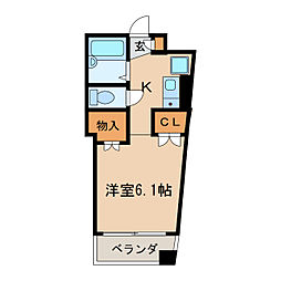 小町マンション車道[3階]の間取り