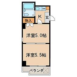 高岳駅 4.4万円