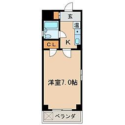 Stage泉[3階]の間取り