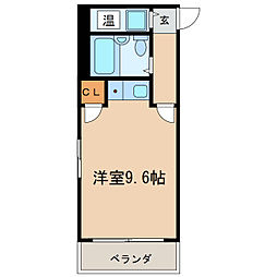 東洋マンション[4階]の間取り