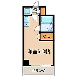 新栄アネックス[3階]の間取り
