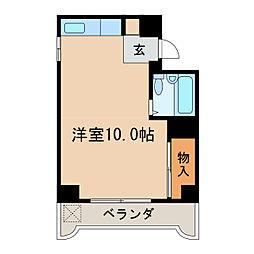 ラ・メゾンドール[4階]の間取り