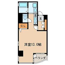 OJビル[6階]の間取り