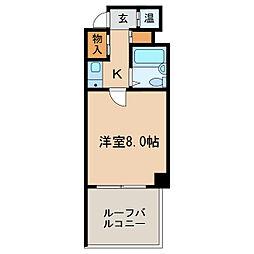 プリンセス新栄[6階]の間取り