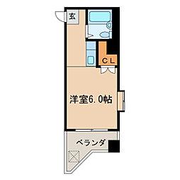 ラ・レジダンス・ド・ノーブル[9階]の間取り