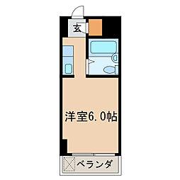 ラ・レジダンス・ド・ノーブル[3階]の間取り