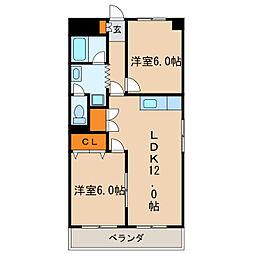 シティアーク新栄[6階]の間取り