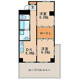 第4菊屋ビル[2階]の間取り