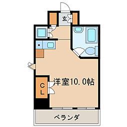 メゾン・ド・レジャンド[7階]の間取り