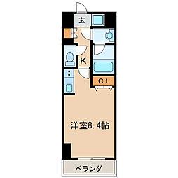 スペーシア栄[11階]の間取り