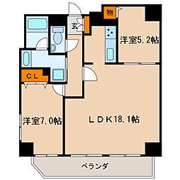 KDX泉レジデンス[9階]の間取り